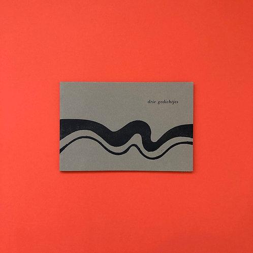 In twaalf exemplaren gedrukt op Ingres