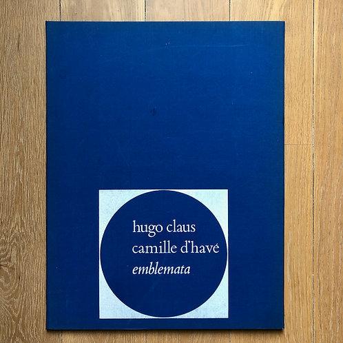 Gedichten van Hugo Claus bij etsen van Camille D'Havé