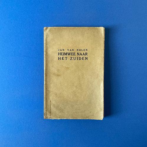 Opdracht van Jan van Nijlen in zeldzame privé-uitgave