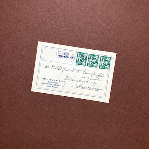 Briefkaart van Willem Kloos
