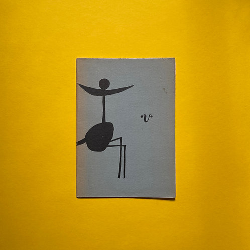 Uitgegeven door Vinkenoog met een omslag van Claus