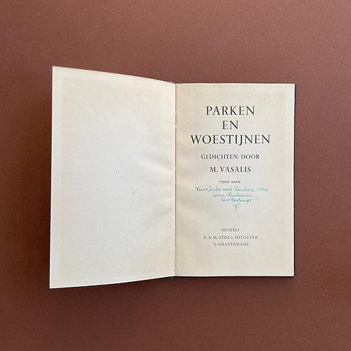 Parken en woestijnen door Bantzinger geïllustreerd