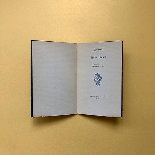 Privé-uitgave van Ab Visser