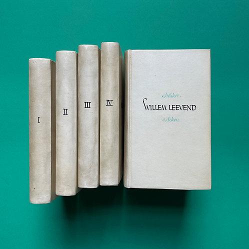 Acht unieke boekbanden van Meentje Rietema