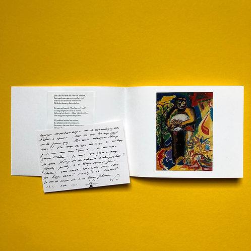 Privé-uitgave met leuke kaart van de auteur