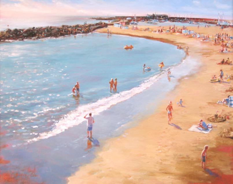 """Summer's Afternoon Lyme Regis"""