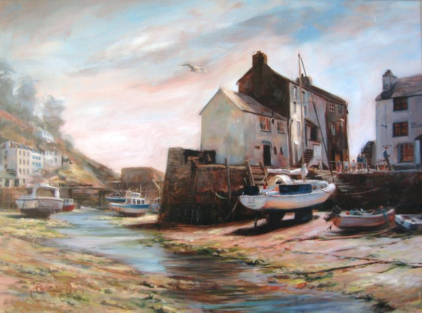 """Low Tide Polperro"""