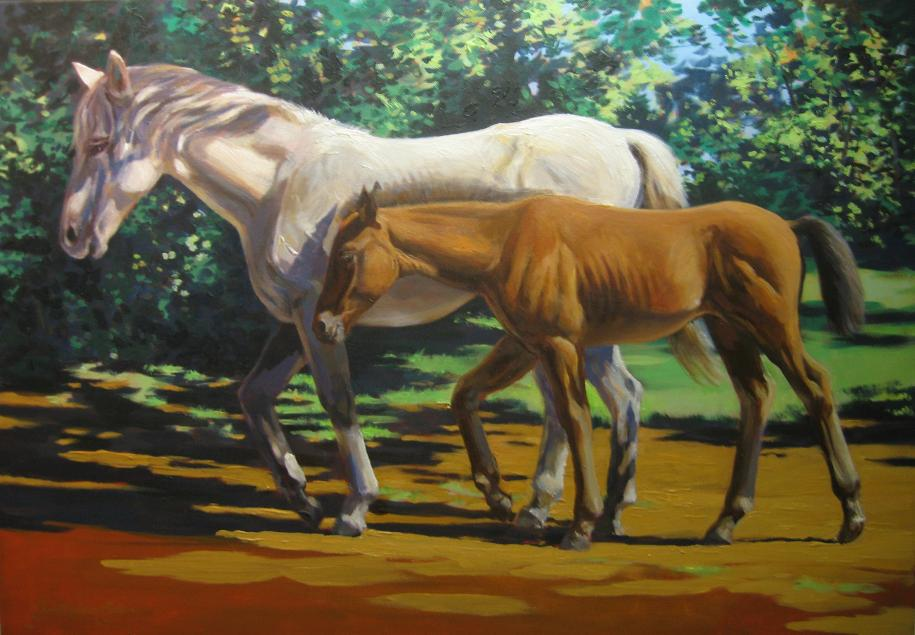 """""""Mare & Foal"""""""