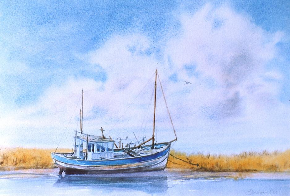 """The Old Fishing Boat"""