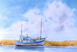 """""""The Old Fishing Boat"""""""