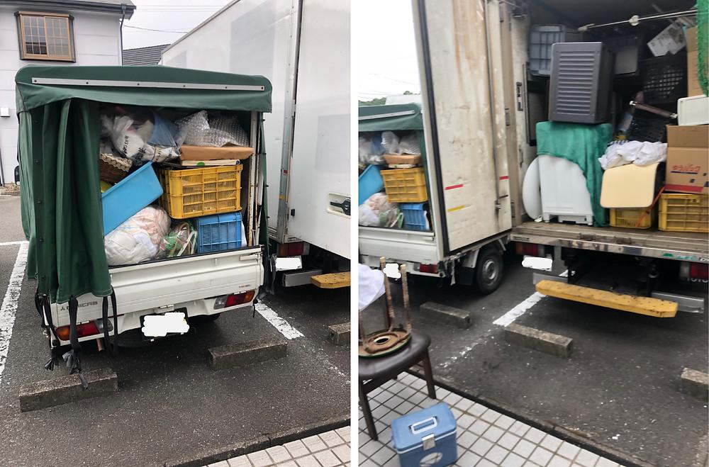 和歌山市、引っ越しに伴う不用品処分