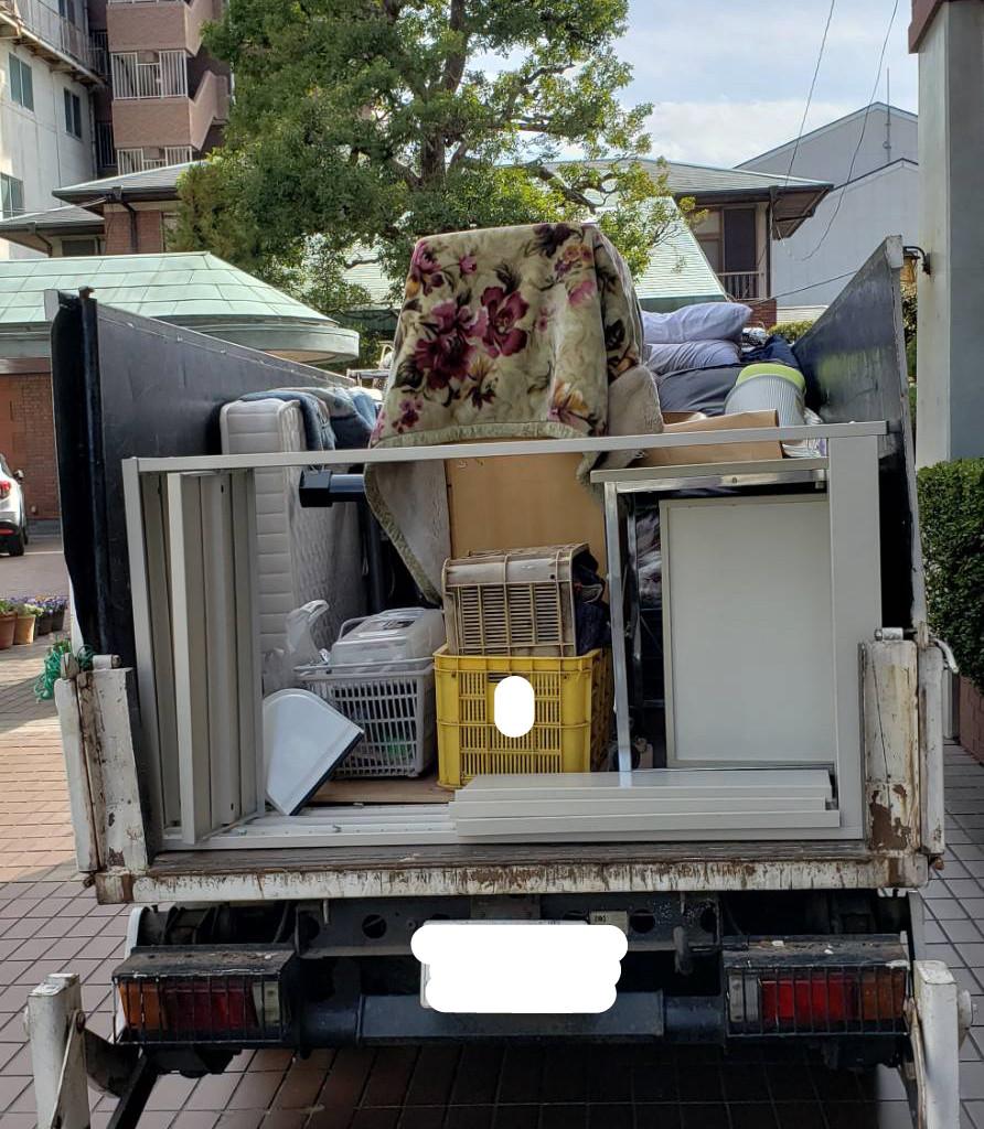 和歌山市 2トン車積み放題