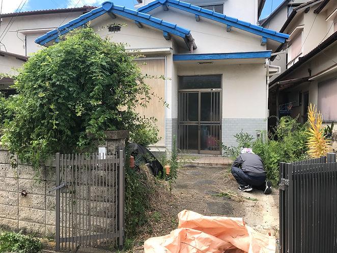 和歌山市の草刈り剪定