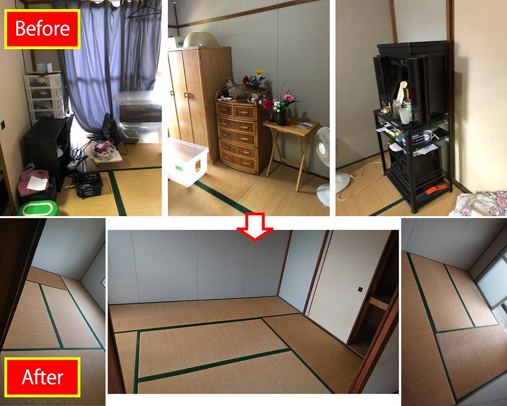 和歌山市 アパートの一室丸ごと処分