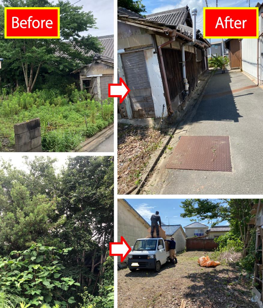 和歌山市、草刈り、伐採