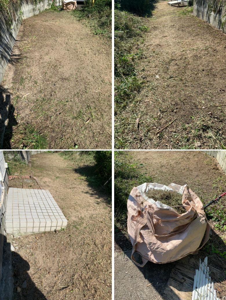 紀南 空き家 草刈