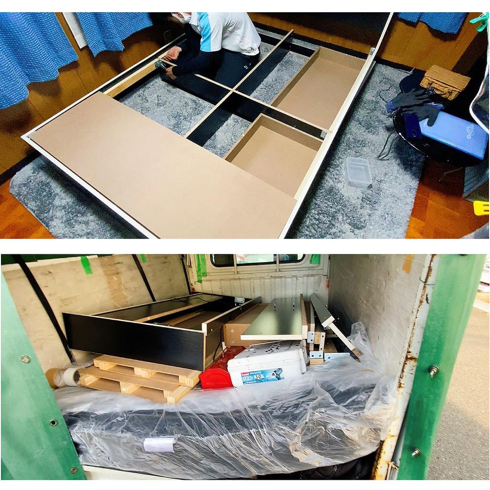 和歌山市 ベッド解体 ベッド組み立て