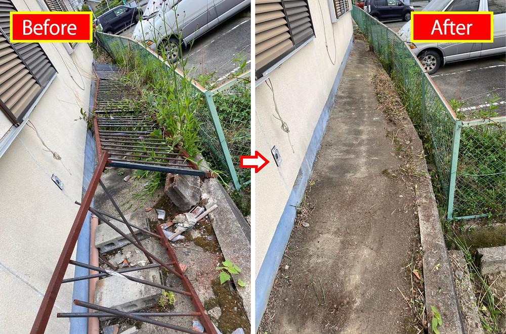 空き地管理、庭のお掃除、清掃