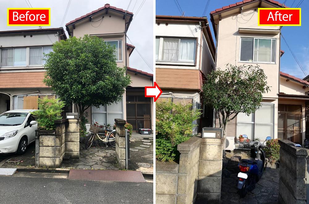 和歌山市、庭木剪定