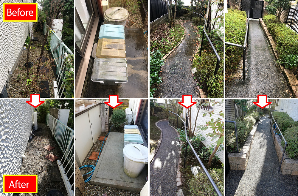 橋本市 庭木剪定 庭木伐採