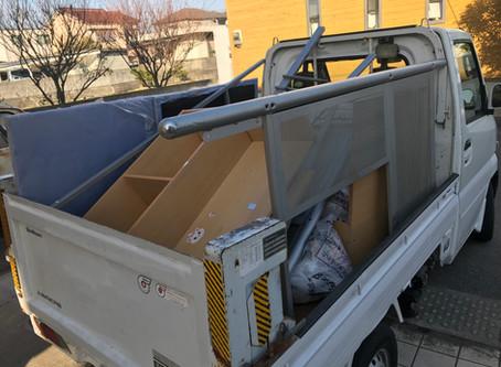 【岩出市】鉄製二段ベッド解体処分