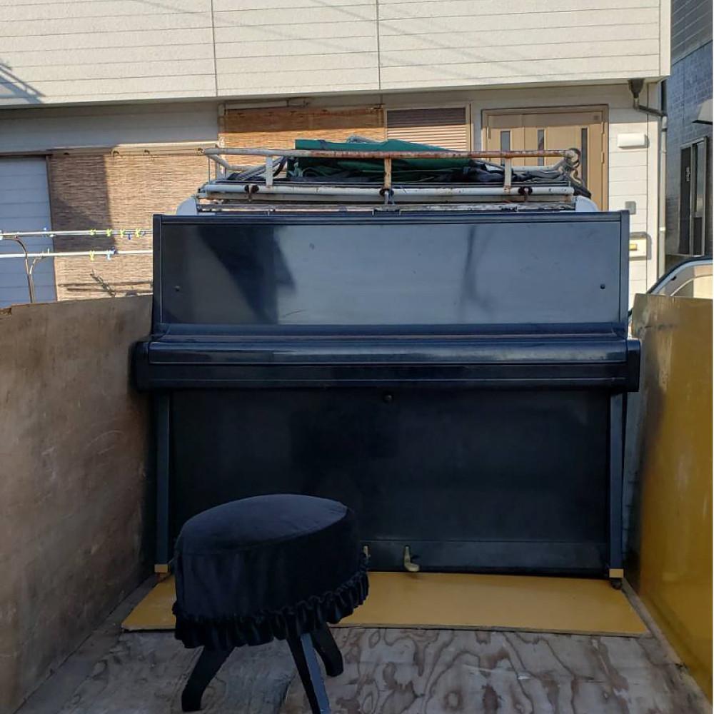和歌山市 ピアノ処分 ピアノ回収