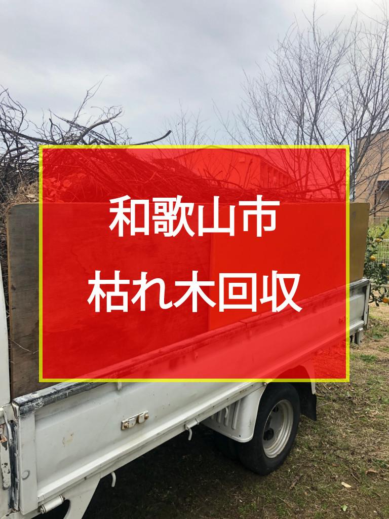 和歌山市 枯れ木回収
