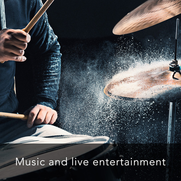 Music and live entertainment