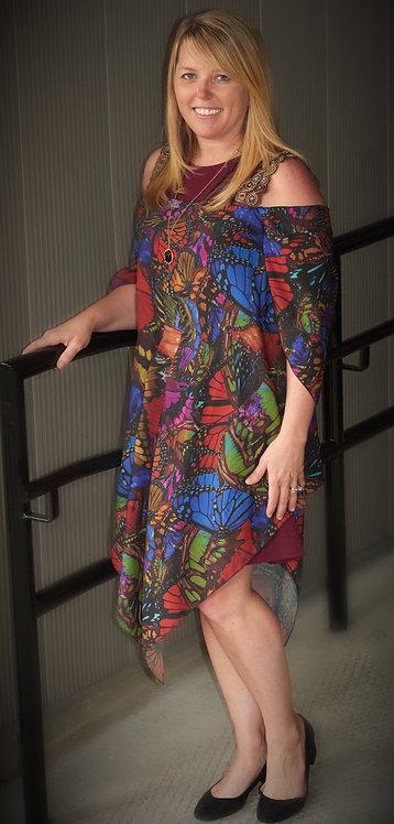 Dress - Flyaway Butterfly Mini Dress