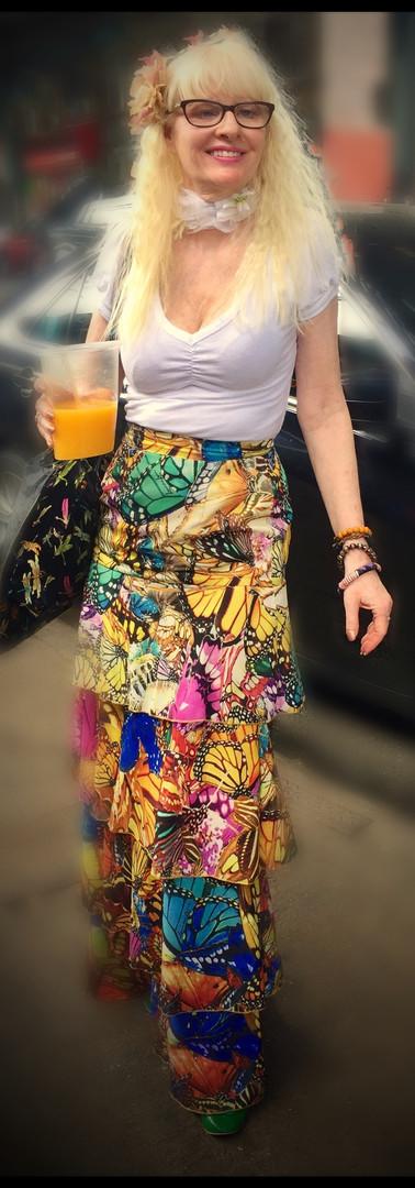 Skirt Five Tier Fiesta