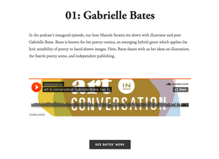 """The fields """"Art in Conversation"""" podcast!"""