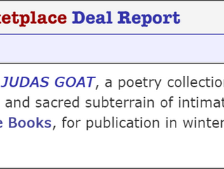 Judas Goat (MY FIRST BOOK!) Forthcoming 2023