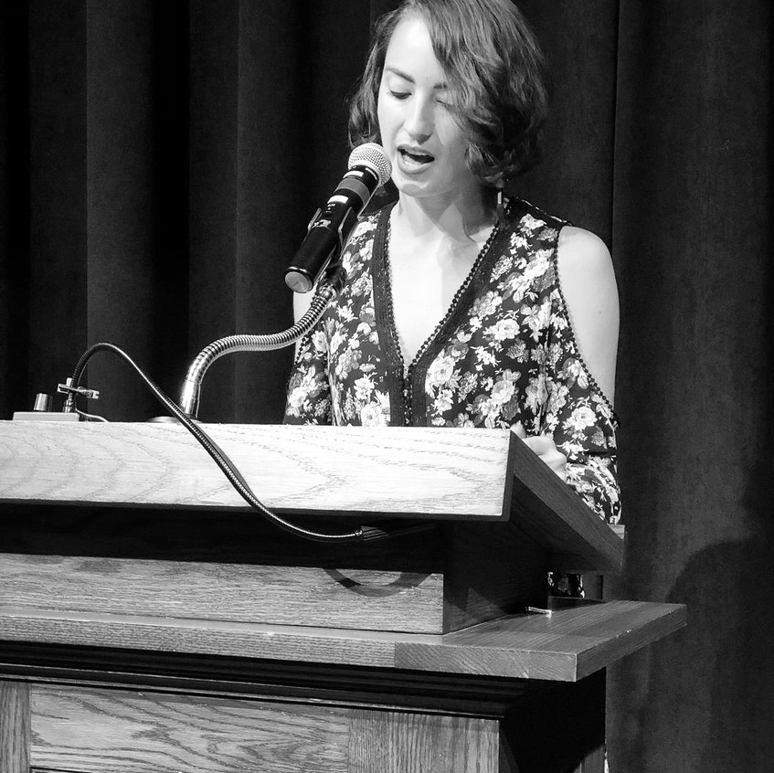 Gabrielle Bates Reading at Bread Loa
