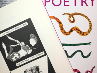 Visual Poetry in Poetry Magazine!