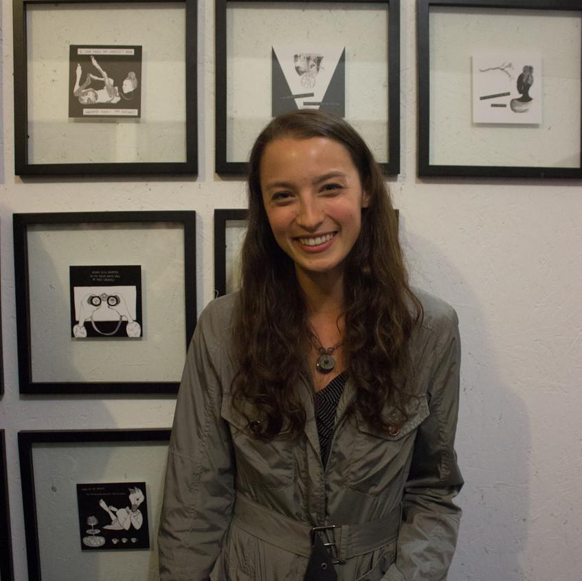 Gabrielle Bates Poetry Comic Show
