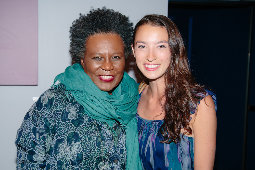 Gabrielle Bates with Claudia Rankine