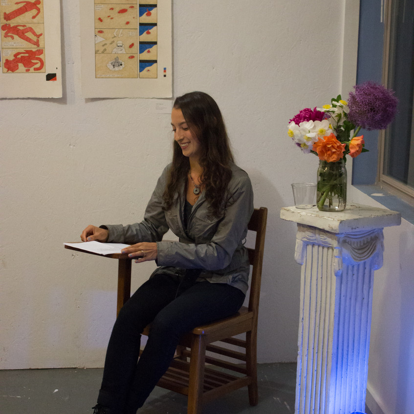 Gabrielle Bates Poetry Reading