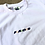 Thumbnail: Overlap Embroidered Tee (wht)