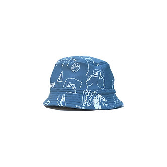 Milksnake x Flavors French Terry Bucket Hat