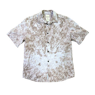 Paisley Short Sleeve Button Up