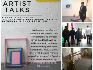 Artist Talks and Performance