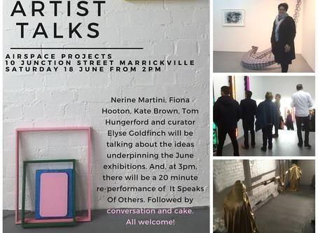 Artist Talks and Performance