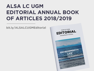 ALSA LC UGM EDITORIAL ANNUAL BOOK OF ARTICLES 2018/2019