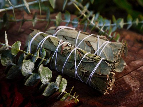 Eucalyptus Leaf   Smudge Stick