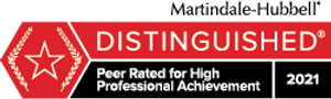 Martindale-Hubbell Distinguished Rating 2021
