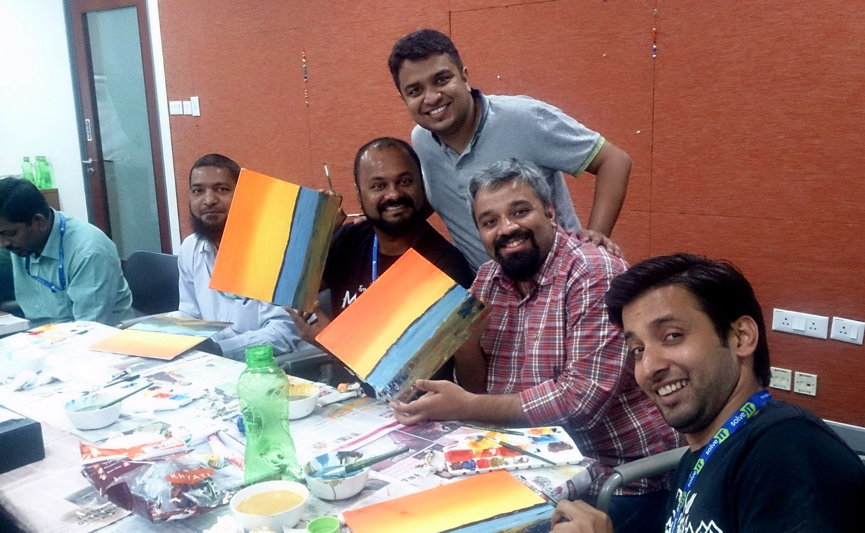 A Brush with Creativity