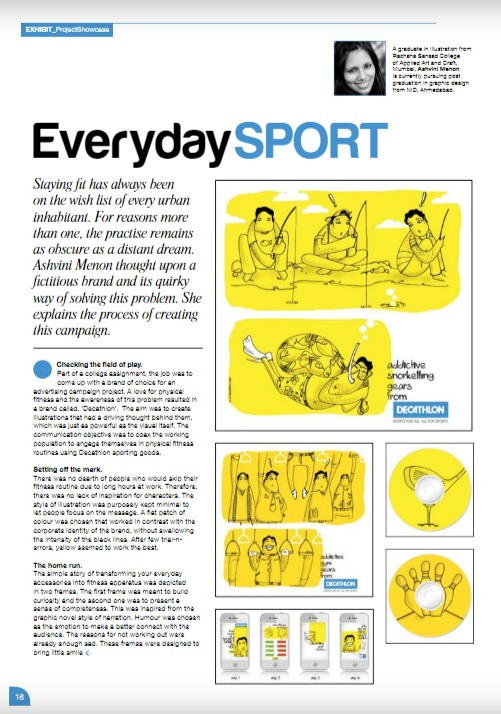 Creative Gaga (Interview) Everyday Sport Issue: July August 2013