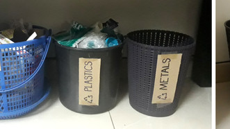 Segregating our Solid Waste.