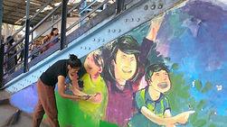 Railway Station Mural