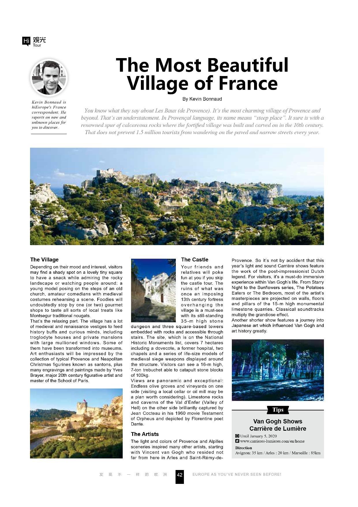 Les Baux de Provence - Hi Europe - Septe